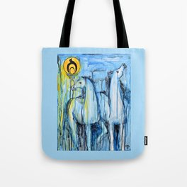 Empowerment: Spirit Horses Rise Tote Bag