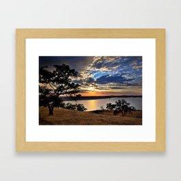 Hensley Lake Framed Art Print