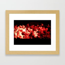 Add more fuel to my fire Framed Art Print