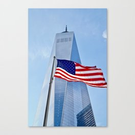 Red, White & Blues NYC Canvas Print