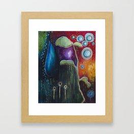 Collecting Journeys Framed Art Print
