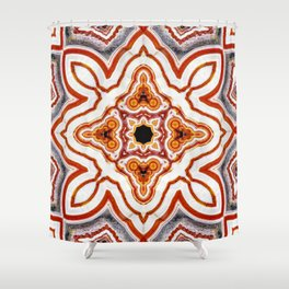 India Print Shower Curtain