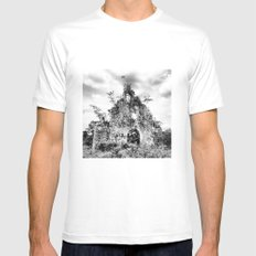 From here to Antiquity Mens Fitted Tee White SMALL