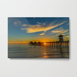 No Waves Glass-Off Metal Print