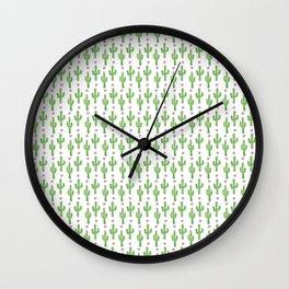 Cactus Craze Wall Clock