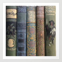 Beautiful Books Art Print