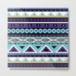 Aztec Pattern No. 11 Metal Print