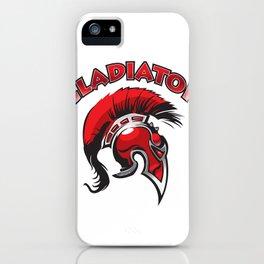 Gladiator helmet iPhone Case