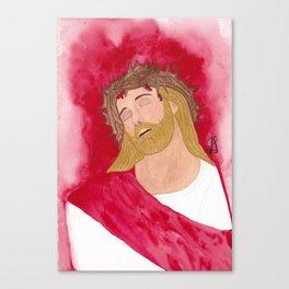 Jesus Christ thorns Canvas Print