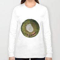 planet Long Sleeve T-shirts featuring Planet by Goga