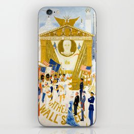 The Cathedrals of Wall Street by Florine Stettheimer, 1939 iPhone Skin