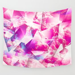 Sky Sliced Clouds Wall Tapestry