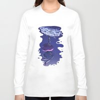 bee and puppycat Long Sleeve T-shirts featuring Bee and Puppycat - Dream by doodlecups