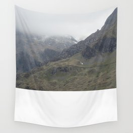 There be Mountains Wall Tapestry