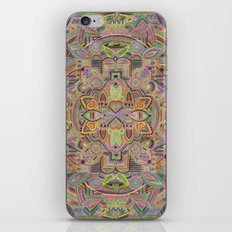 botanical inspired zentangle - Juniper addition iPhone Skin