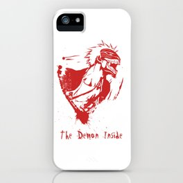 I.K. Demon Inside - Red Style iPhone Case