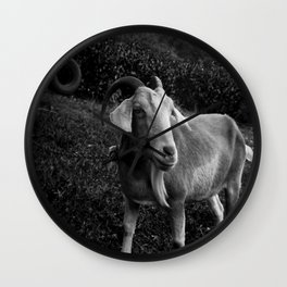 Noddy the Goat Wall Clock