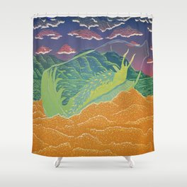 Santa Cruz Nudibranch Shower Curtain