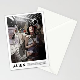 ALIEN Narcissus Stationery Cards