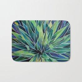 agave abstracta Bath Mat