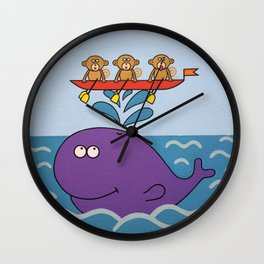 In the sea Wall Clock