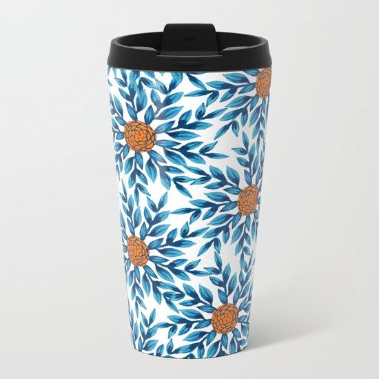 pattern 51 Metal Travel Mug