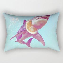 Lemon Shark Rectangular Pillow