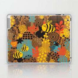 The bee. Laptop & iPad Skin