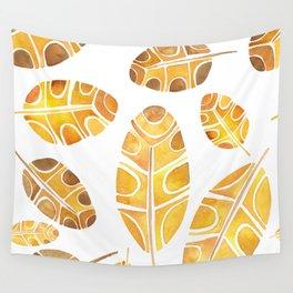 Brown Leaf Wall Tapestry