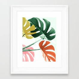 Urban jungle Framed Art Print
