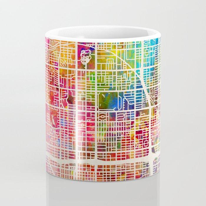 Phoenix Arizona City Map Coffee Mug