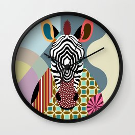 Spectrum Zebra Wall Clock