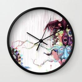 Cuckoo's Nested Fear Wall Clock
