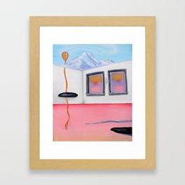 Déjà Vu Windows From a Childhood Dream Framed Art Print