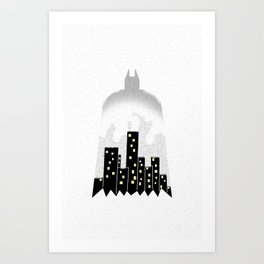 There, in the shadows!  Art Print