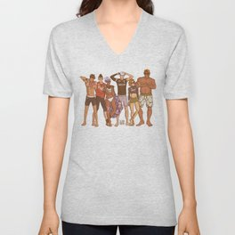 Voltron - Beach Volleyball Unisex V-Neck