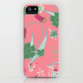 Petite Summer Coral iPhone Case