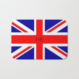 Union Jack Flag Bath Mat