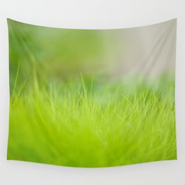 Fresh green grass close up. Wall Tapestry