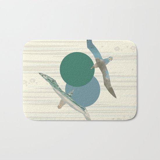 Seagull Polka Bath Mat