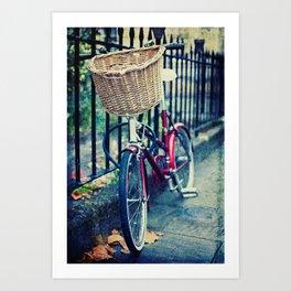 City bike Art Print