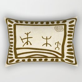 Ethnic 3 Canary Islands Rectangular Pillow