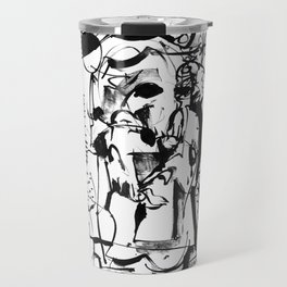 Sunrise - b&w Travel Mug