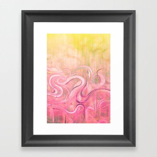 Cascade II Framed Art Print