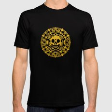 cursed treasure - Pirates of the Caribbean Mens Fitted Tee 2X-LARGE Black