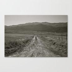 Utah Road Canvas Print