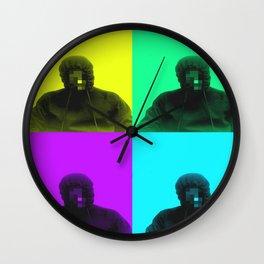 Eye-dentity...PoP (concrete edition) Wall Clock