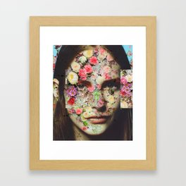 Flowered skin l Framed Art Print