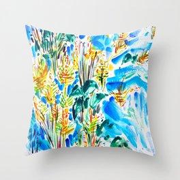 M Street Beach Throw Pillow