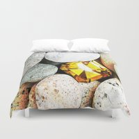 gem Duvet Covers featuring hidden gem by arnedayan